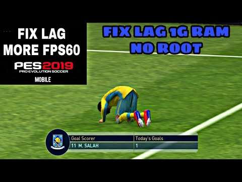 PES 2019 MOBILE Fix Lag And Graphics by editing game file #PES 19 Mobile