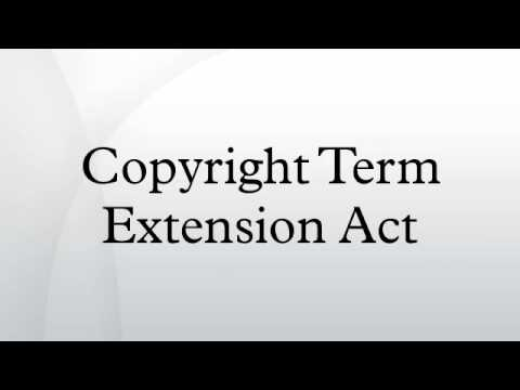 Copyright Term Extension Act