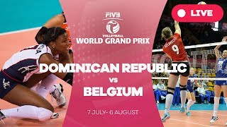 Dominican Republic V Belgium Group 1 2017 FIVB Volleyball World Grand Prix
