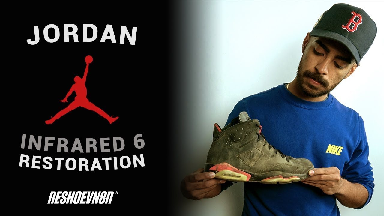 bc213342588b60 Can Vick Almighty Restore These 2014 Jordan 6 Infrareds With ...