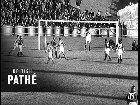 Australia V Palestine Football Match (1939)