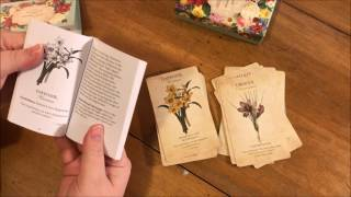 Botanical Inspirations Deck and Book Set First Impressions