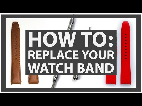 How To Replace Your Watch Band - Everest Bands