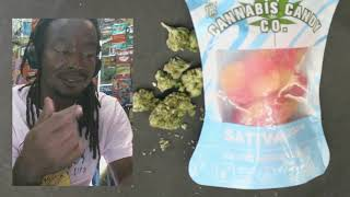 Certified Pothead - Edibles - The Cannabis Candy Company - Peach Circles Sativa 300mg
