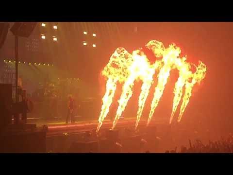 Rammstein live in Iceland vikingclap + Sonne