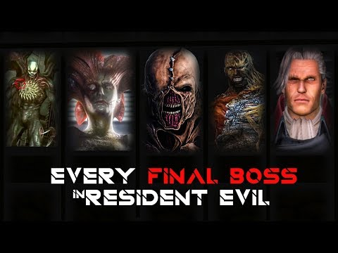 FINAL BOSS in EVERY RESIDENT EVIL AND THEIR TRUE FORM (Spin-Off Games) Part 2