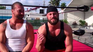Wes Brisco, Kenneth Cameron Interview at The Fair Miami 2014