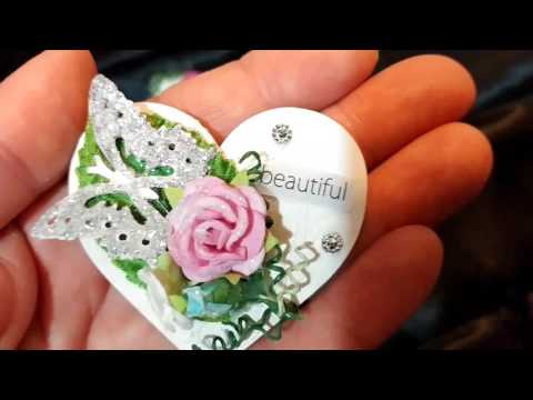 DIY Tiny Shabby Chic Embellishments