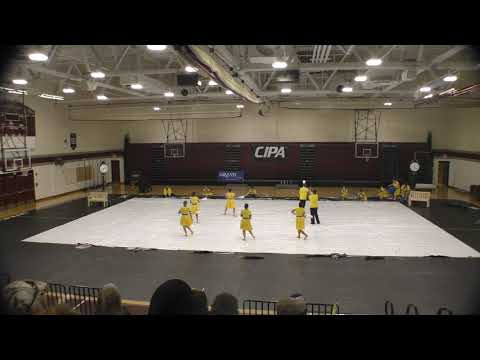 2020 Fort Chiswell high school Winter Guard.