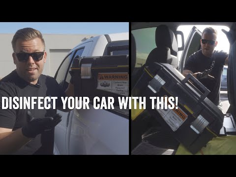 OZONE: HOW TO DISINFECT, SANITIZE AND REMOVE ODORS FROM YOUR CAR WITH THIS: HERE IS HOW TO DO IT!