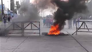 PROTESTA PARA PEDIR MAS SEGURIDAD EN 1 Y 520 thumbnail