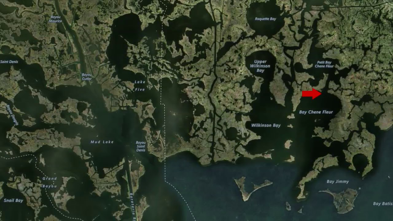 How to find Louisiana speckled trout, redfish hotspots on a map - YouTube