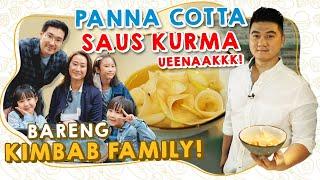 GAMPANG! BIKIN PANNA COTTA SAUS KURMA BARENG KIMBAB FAMILY! COCOK BUAT BUKA PUASA!