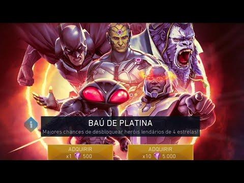 Injustice 2 Mobile - Platinum Chest Opening  