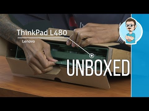 Lenovo ThinkPad L480 | Unboxing & First Impressions!