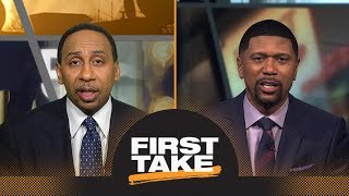 Stephen A. challenges Jalen Rose's suggestion players boycott NCAA tournament | First Take | ESPN