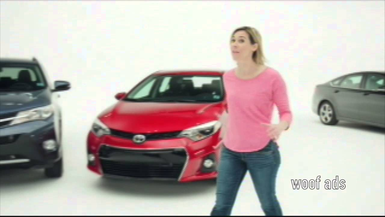 Toyota Commercial 2014 Featuring Blonde Woman 4