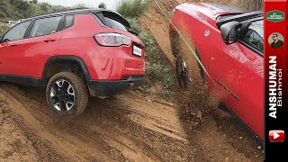 Offroading with Jeep Compass Trailhawk, Ford Endeavour, Tata Storme...