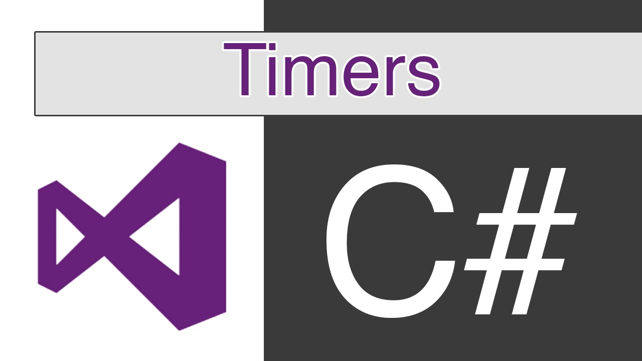 Visual Studio - C# - Timers
