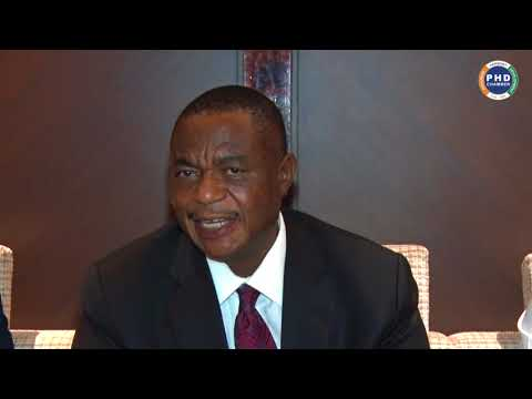 Interactive Session with Hon. Gen. (Rtd) Dr. Constantino G D N Chiwenga