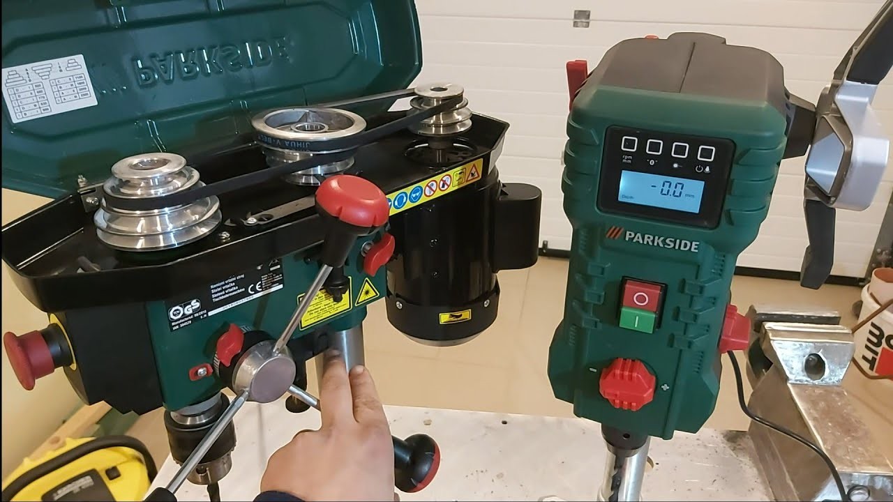 Brand New Drill Press Parkside Ptbm 500 C3 By Mirko Miro