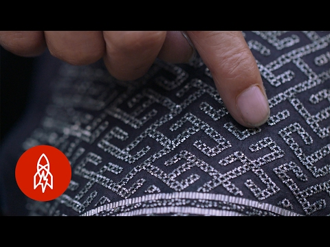 Keeping the Ancient Craft of Tin Embroidery Alive