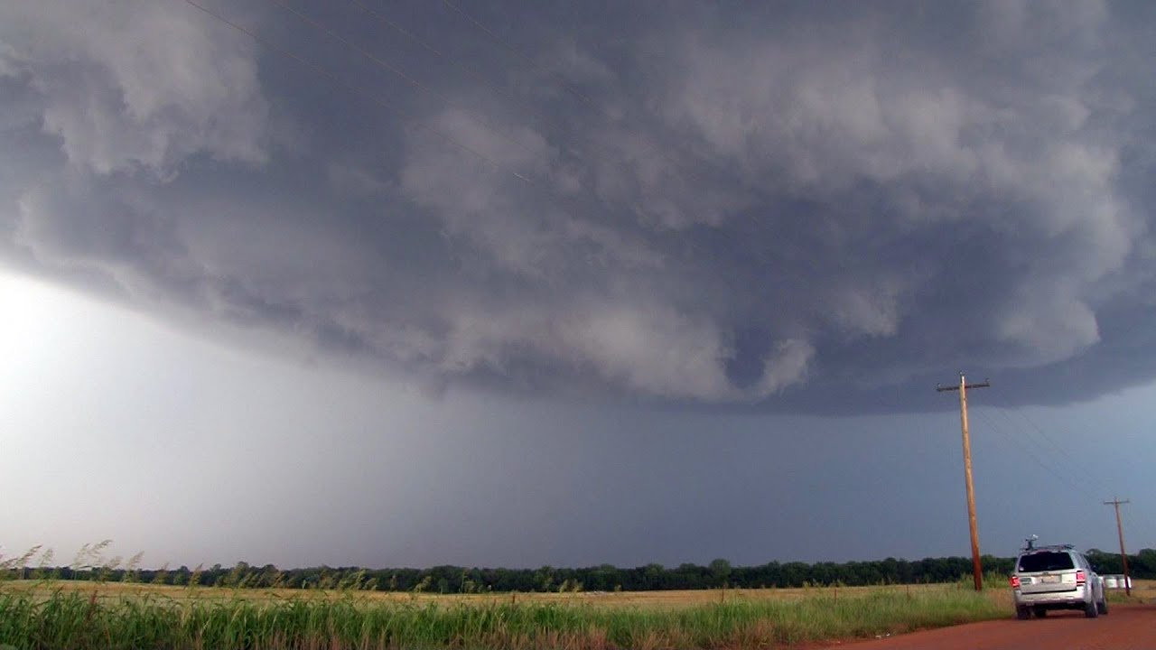 Supercell Thunderstorms 2012 Timelapse