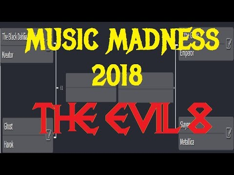 MUSIC MADNESS 2018 - THE EVIL 8