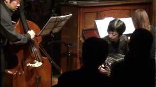 "2013.2.12 Live at cafe ""Morinooto"" Kimiyo Ogawa/Bandoneon Mika Naga..."