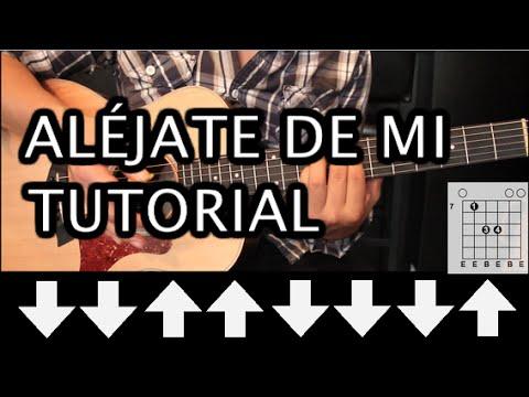 Como tocar 'Oye Mi Amor' de Maná - Tutorial Guitarra ...