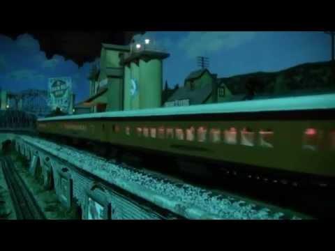 """Night Trains"", Twin City Model Railroad Museum"