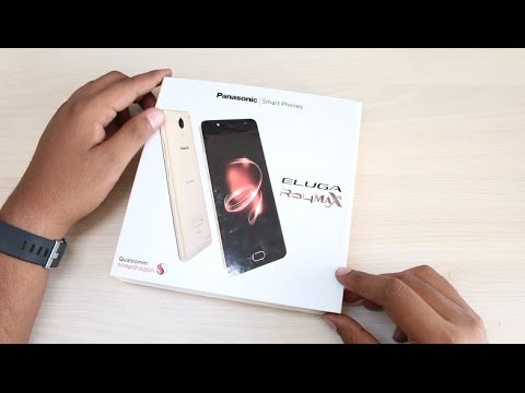 superior quality 2ae39 7f959 Panasonic Eluga Ray Max Unboxing & Hands on - YouTube