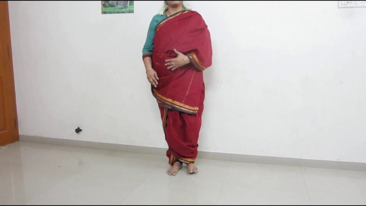 How to iyengar wear madisar saree rare photo