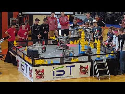VEX In The Zone Ohio State Championship QF 4-2 6008D 421C vs 6403A 6008Z