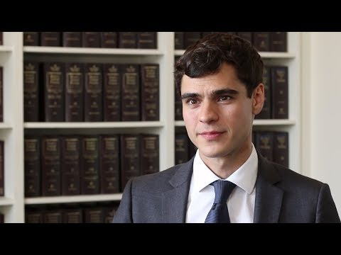 Bobby Hunter '18 talks about his journal experience with NYU