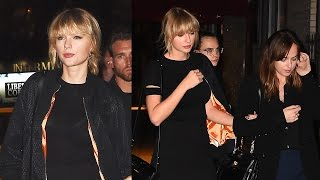 Taylor Swift Attends Private Concert & Dinner With New Squad Members