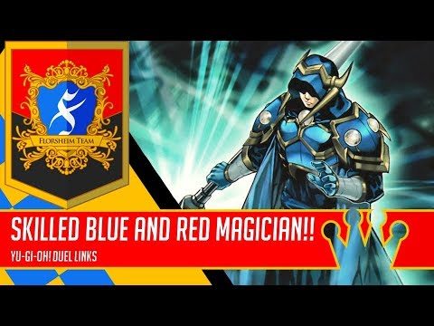 Blue and Red Skilled Magicians | King of Games [Yu-Gi-Oh! Duel Links]