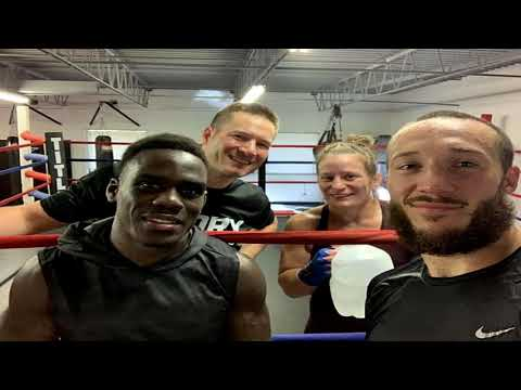 Team USA Kickboxing's Head Coach, Chris Cichon At The WAKO USA Training Camp