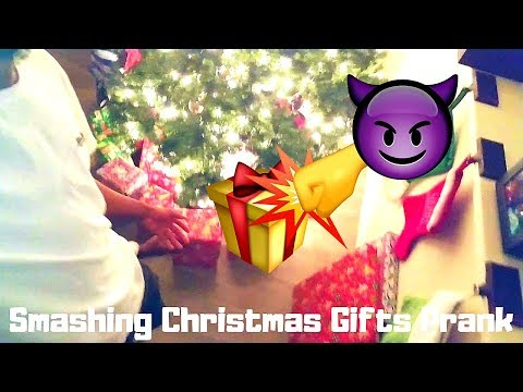 😈SMASHING CHRISTMAS GIFTS PRANK FT. CAMSZN TV (PREVIEW) / NEW CONTENT?
