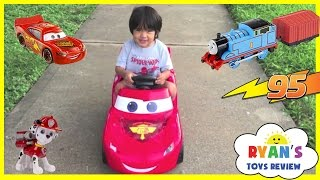 Top Playtime at the Park playground Complications Disney Cars Power Wheels Ride On Eggs Surprise Toy