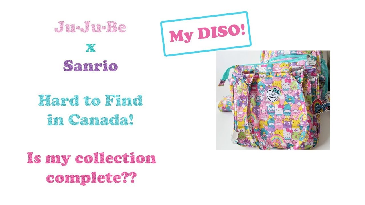 0132110b1 Ju-Ju-Be Hello Sanrio Sweets Be Sassy Unboxing (Hard to Find in Canada!)