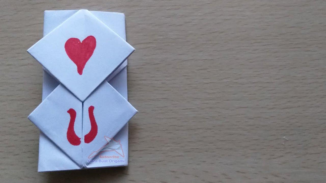 Origami Amplop Unik