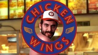 Worst Chicken Wings Restaurant Ad EVER!