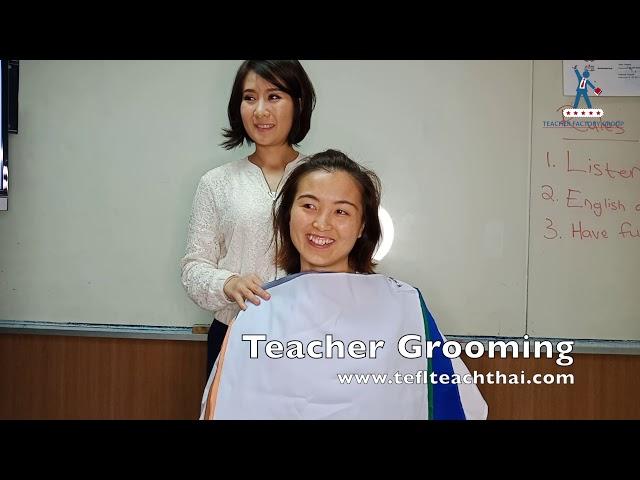 Teacher Grooming | TEFL Course | Text-And-Talk | January 2019