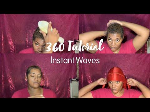 How To Get 360 Waves| Beginner Friendly DIY Wave Tutorial thumbnail