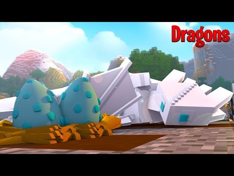 LIGHTFURY FROST IS HAVING BABIES?  Minecraft How to train your Dragon