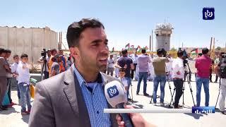 فلسطين .. نقابة الصحفيين تنظم وقفة احتجاجية امام معتقل عوفر