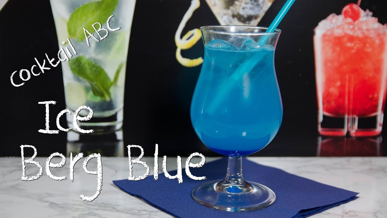 ice berg blue der eisblaue cocktail cocktail abc ohne alkohol youtube. Black Bedroom Furniture Sets. Home Design Ideas