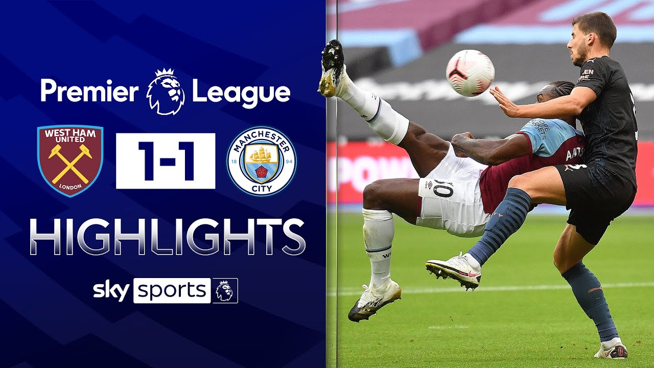 Antonio stunner helps Hammers earn a draw! | West Ham 1-1 Man City | Premier League Highlights