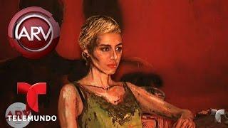 Pintora crea obras de arte viviente | Al Rojo Vivo | Telemundo